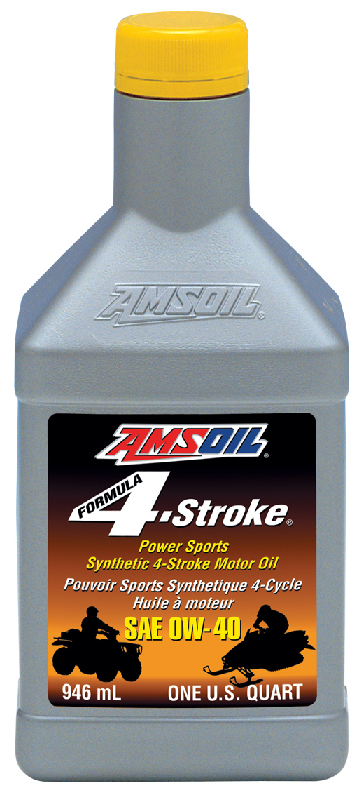 Amsoil 0w 40 formula 4 stroke powersports synthetic motor for What motor oil is best for cold weather