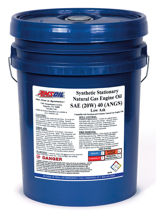 Natural Gas Engine Oil Sae