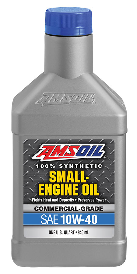 Amsoil 10w 40 synthetic small engine oil commercial for Motor oil api rating