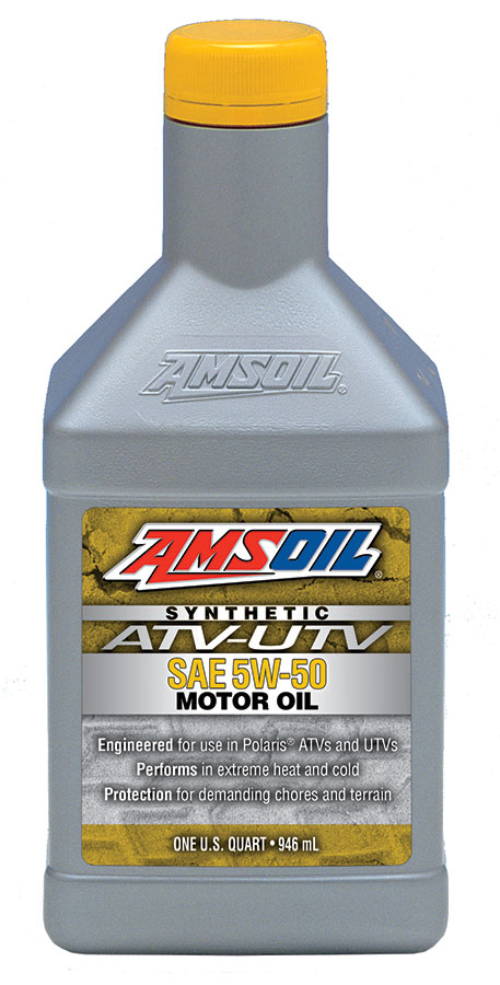Amsoil 5w 50 Synthetic Atv Utv Motor Oil