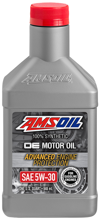 Amsoil oe 5w 30 synthetic motor oil oef for Amsoil 100 synthetic motor oil