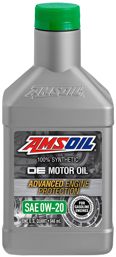 Amsoil Oe 0w 20 Synthetic Motor Oil Oez