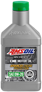 Amsoil OE 0W-20 Synthetic Motor Oil (OEZ)