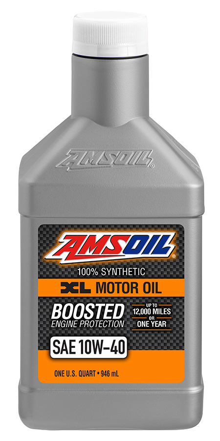 amsoil 10w 40 synthetic motor oil xlo