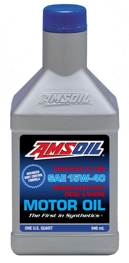 Amsoil 15w 40 Heavy Duty Diesel Marine Motor Oil Ame
