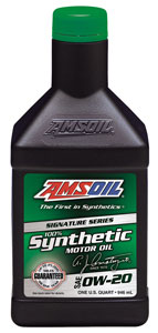 SAE 0W-20 Signature Series 100% Synthetic Motor Oil (ASM)
