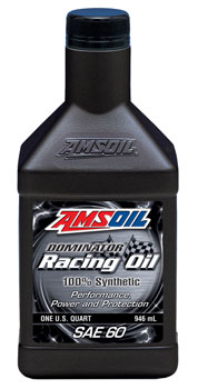Dominator® Synthetic SAE 60 Racing Oil (RD60)